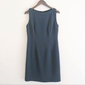 Yansi Fugel | boatneck shift dress olive green